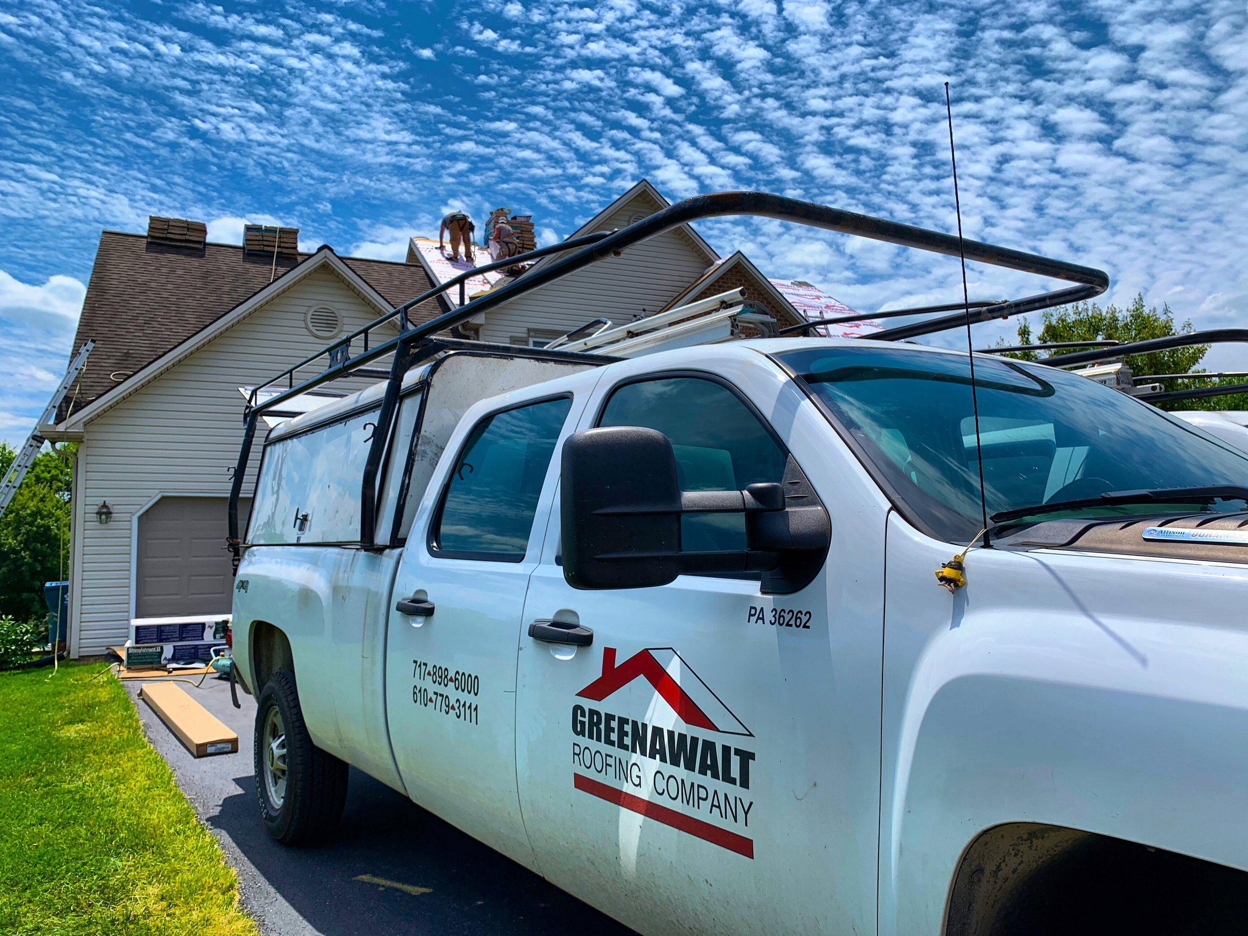Greenawalt-Roofing-Company-Truck-at-work.JPG