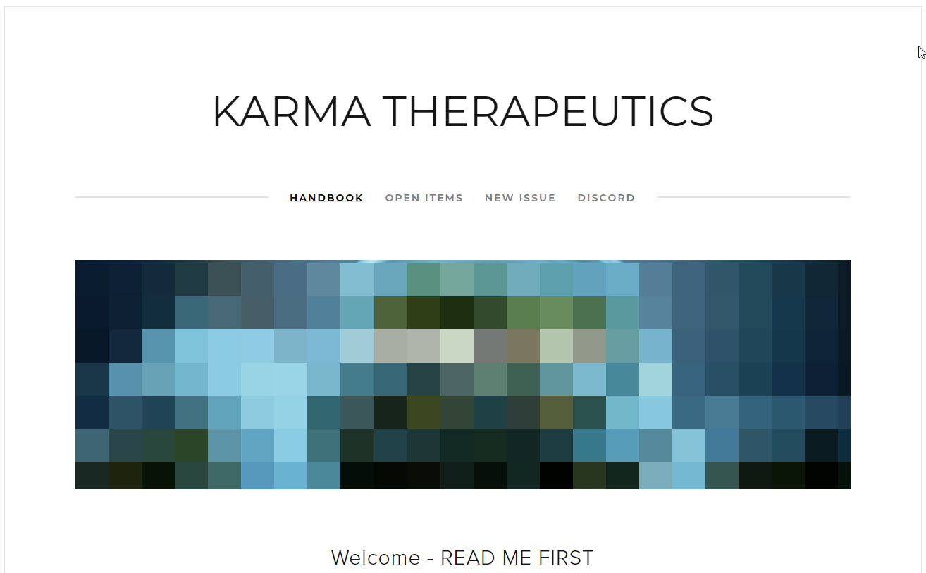 Karma Therapeutics: Software Consult — Creosphere