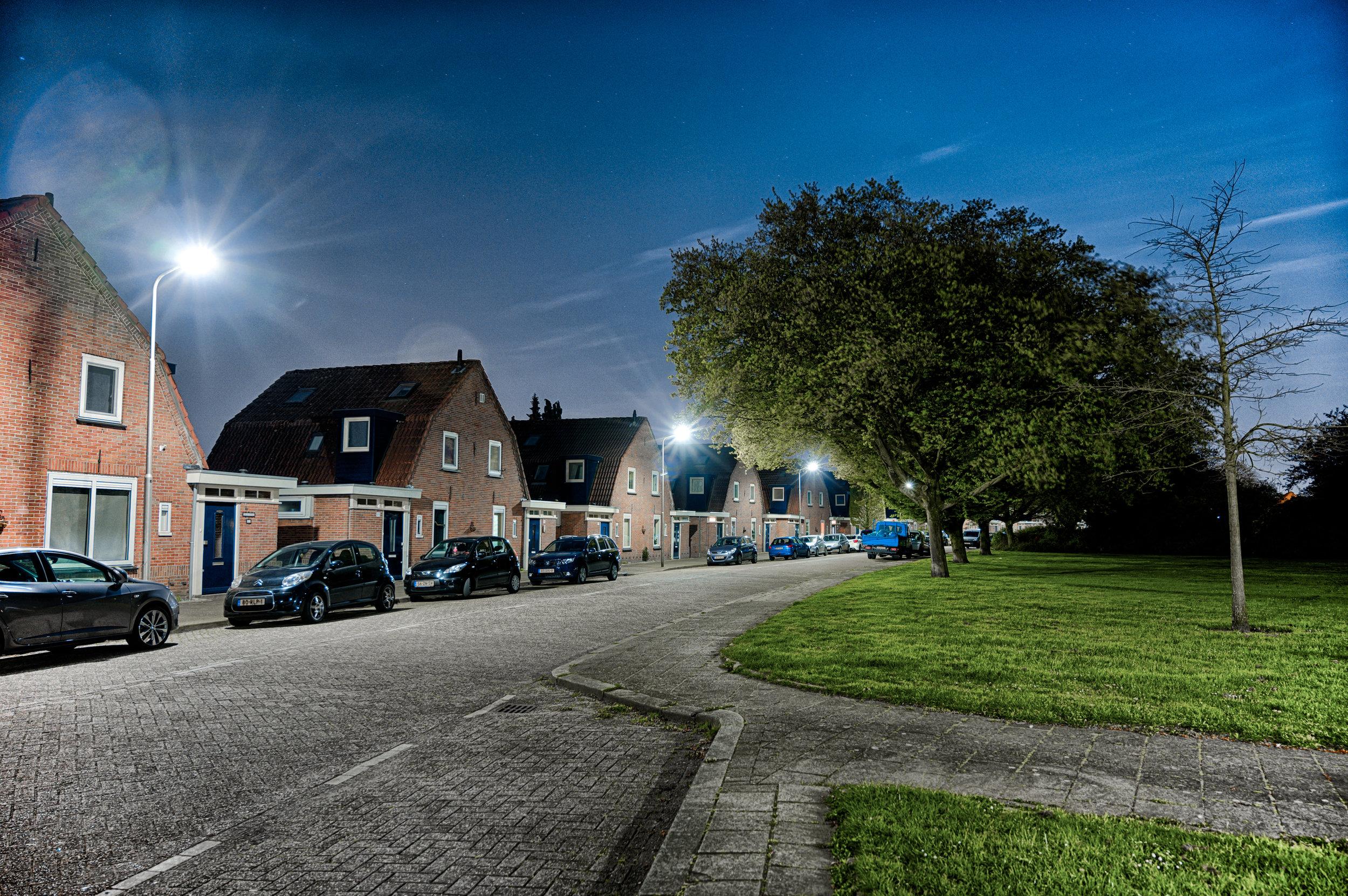 de Willemstraat, Ridderkerk Slikkerveer  f/4, 3.00 seconden, ISO 800