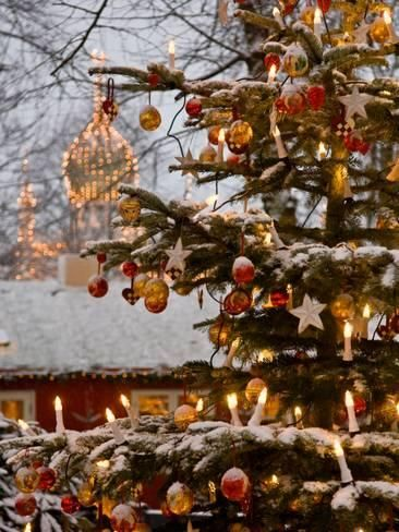 Christmas at the  Tivoli Gardens  in Copenhagen is a must-see attraction.
