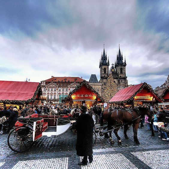 Prague's Christmas market is a one-of-a-kind holiday experience.