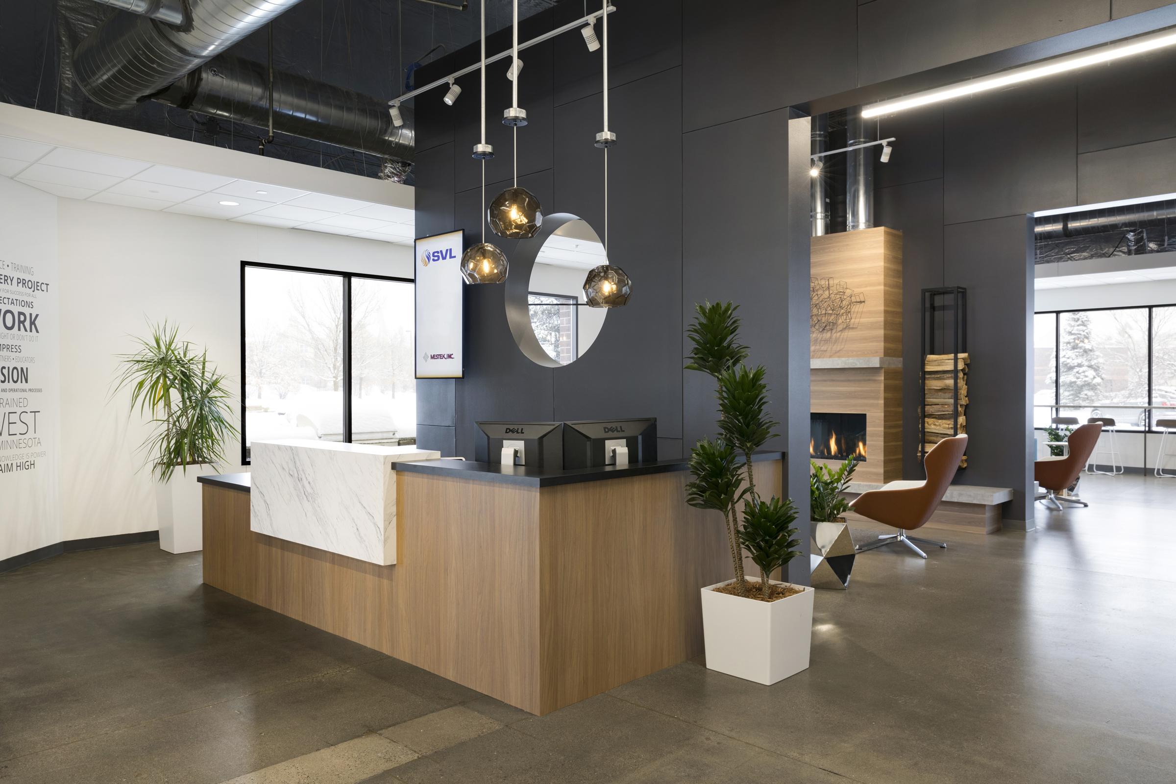SVL Reception | Vela Creative Interior Design