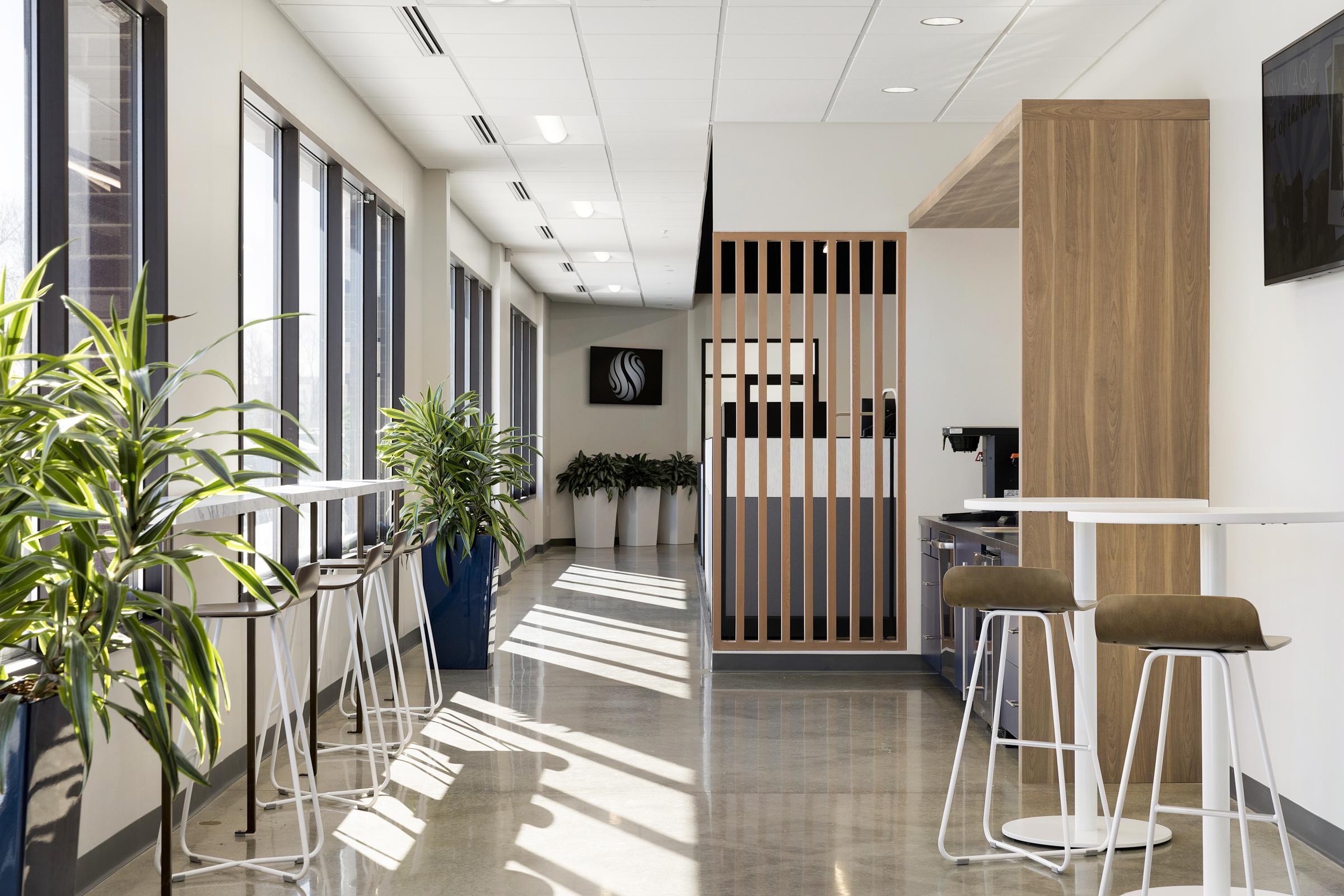 Office Cafe | Vela Creative Interior Design | Commercial Interiors Minneapolis