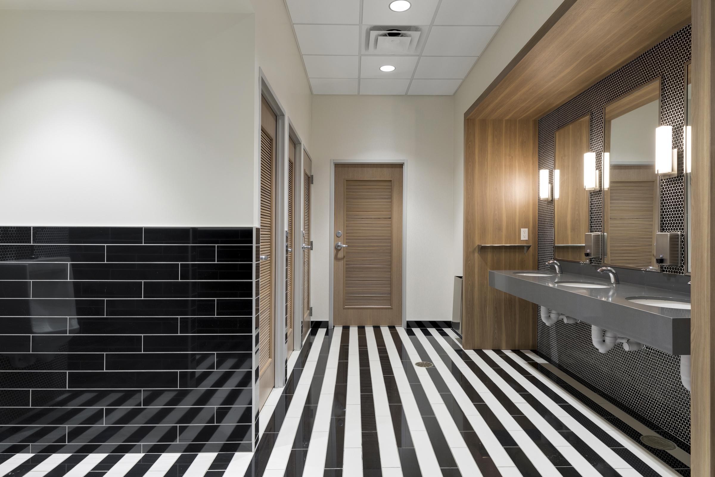 Handsome Restroom | Vela Creative Interior Design | Minneapolis
