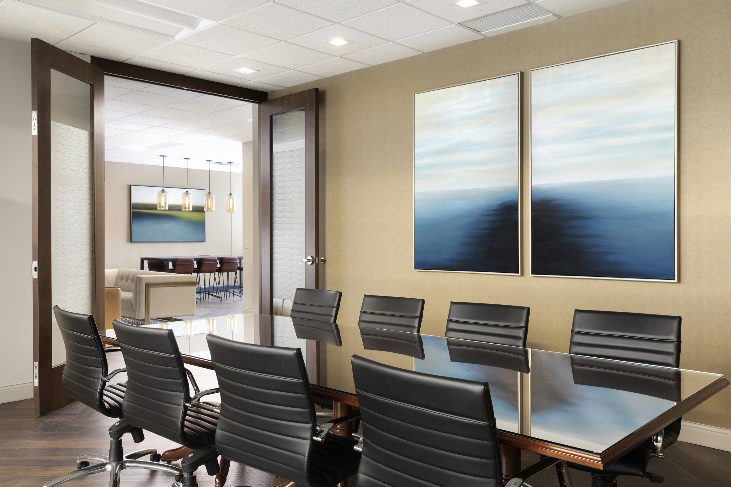 Conference Room Design | Vela Creative Interior Design | St. Paul, MN