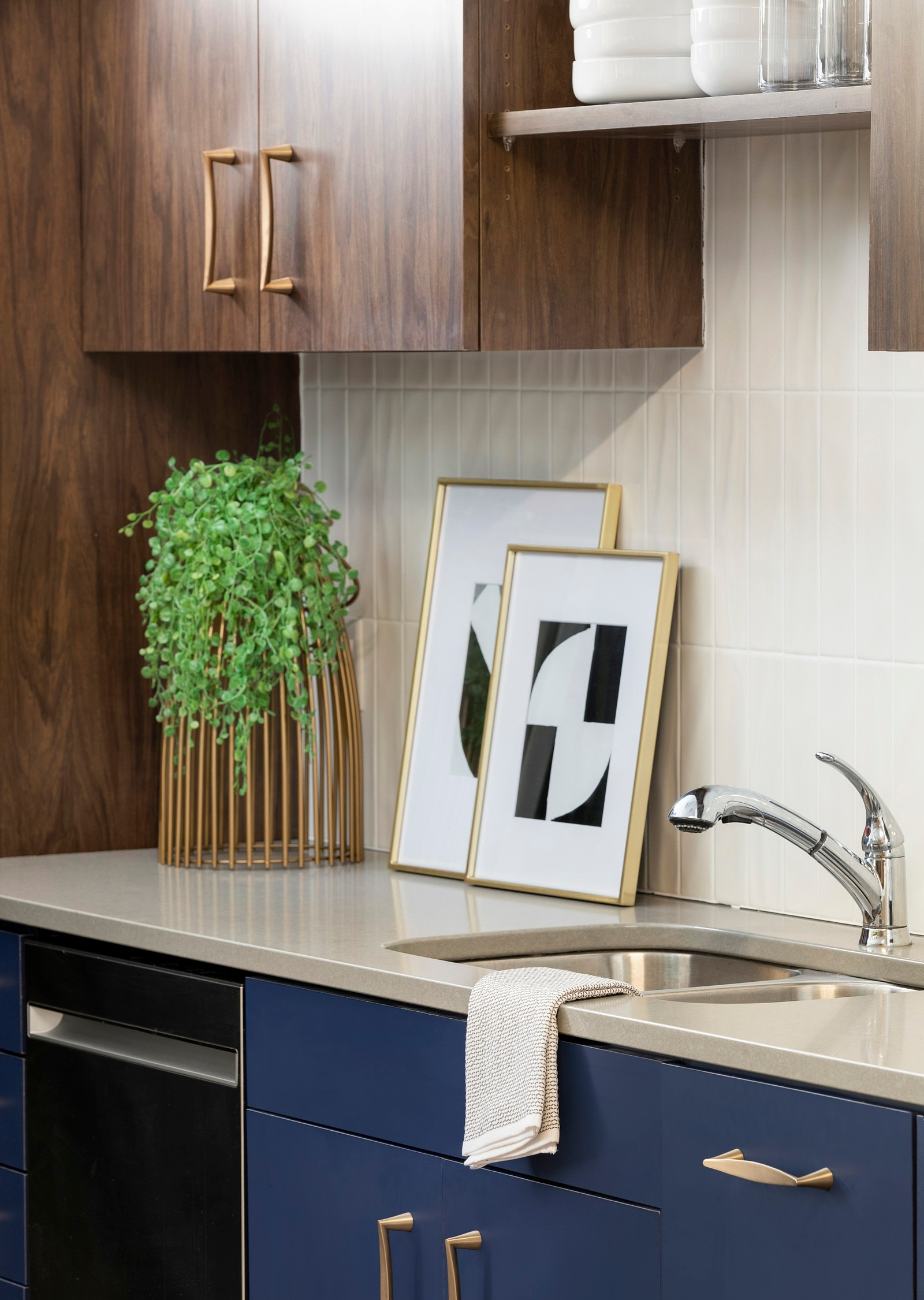 Kitchenette Design | Vela Creative Interior Design | Minneapolis