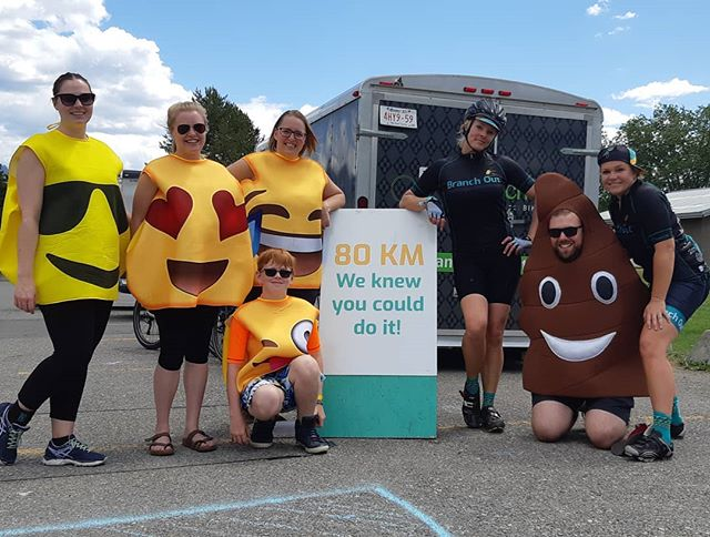 The 2019 Branch Out Bike Tour is in the books!! Sign up now for next year and start learning about this incredible Calgary based charity at branchoutfoundation.com!  #branchybiketour #branchoutfoundation #bikingforbrains #wemadeit
