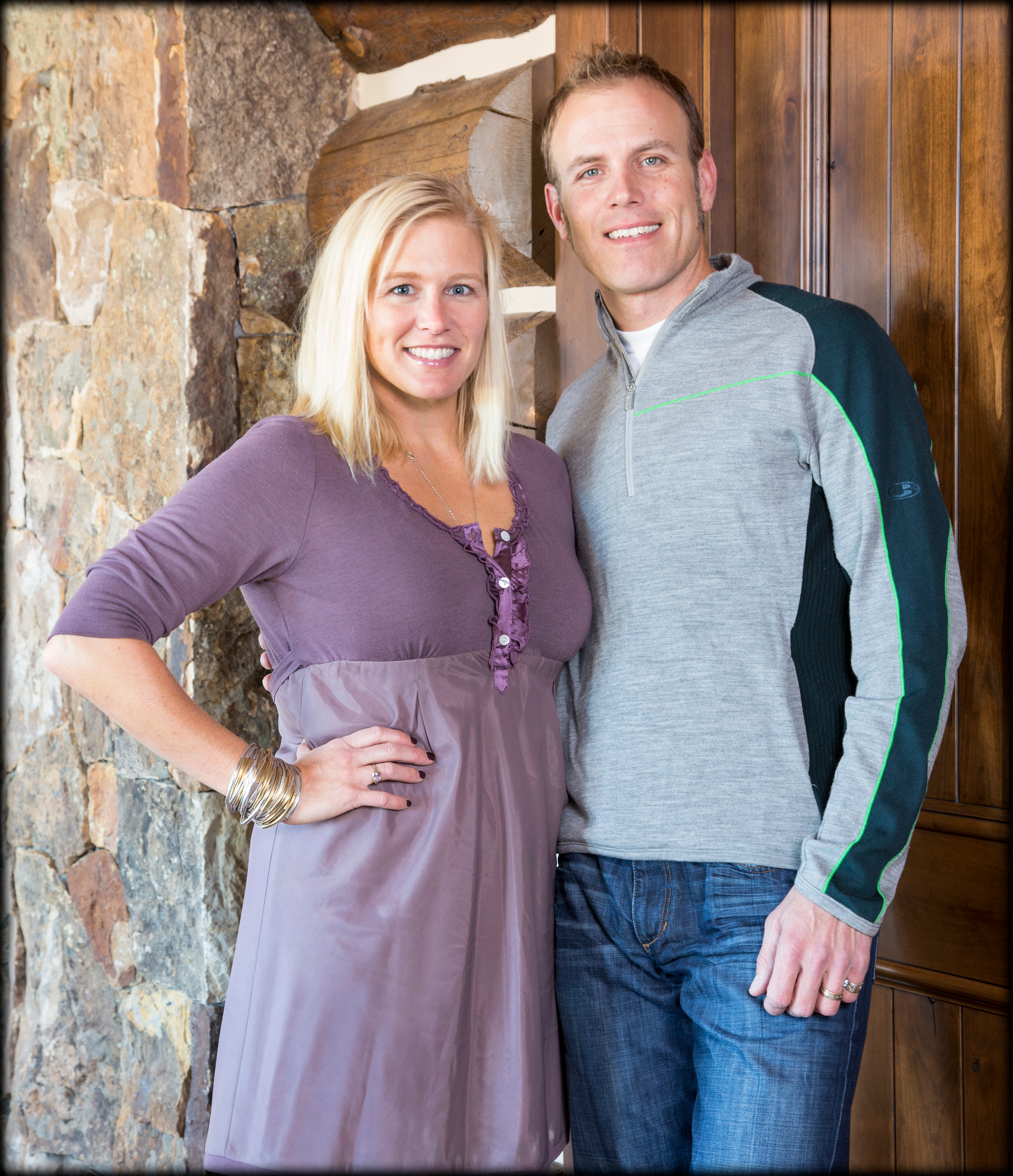 Ingrid and Sean McGinley  - Founders, Meadow Mountain Homes