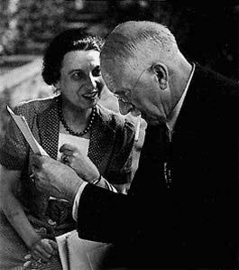 Jolande Jacobi with C.G. Jung