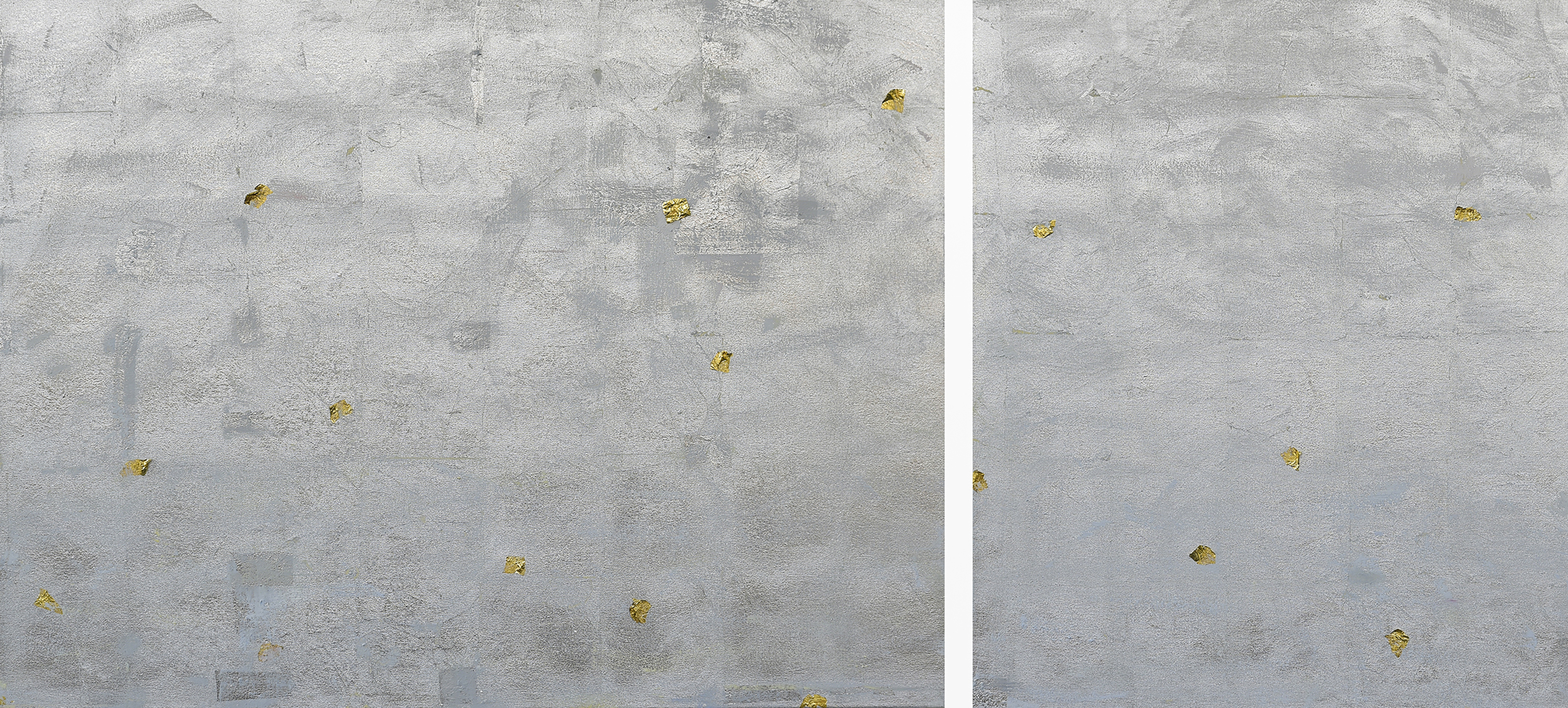 Illusion of Separation#36 x 78 in. total, diptych