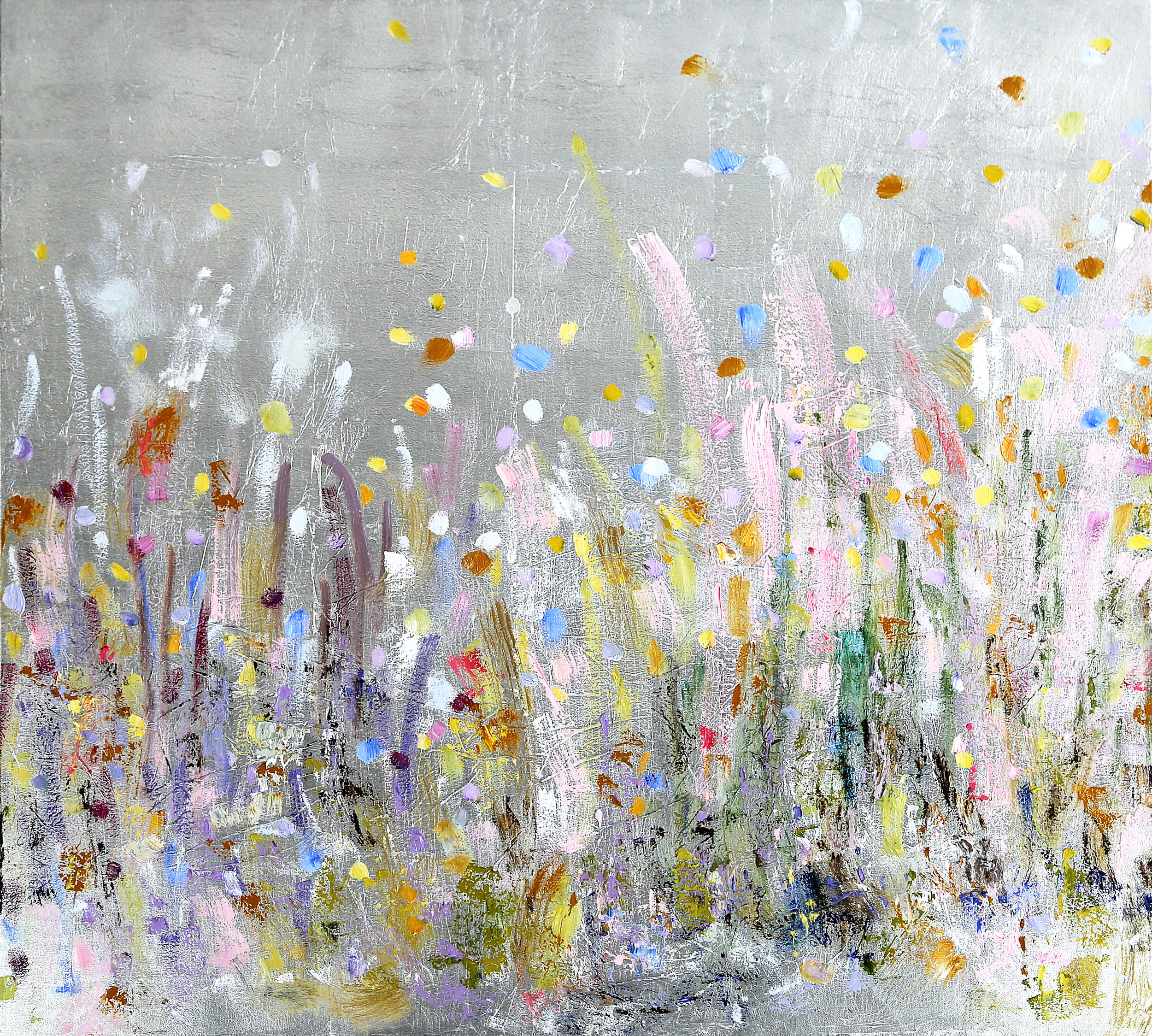 Drifting Petals*#36 x 36 in.
