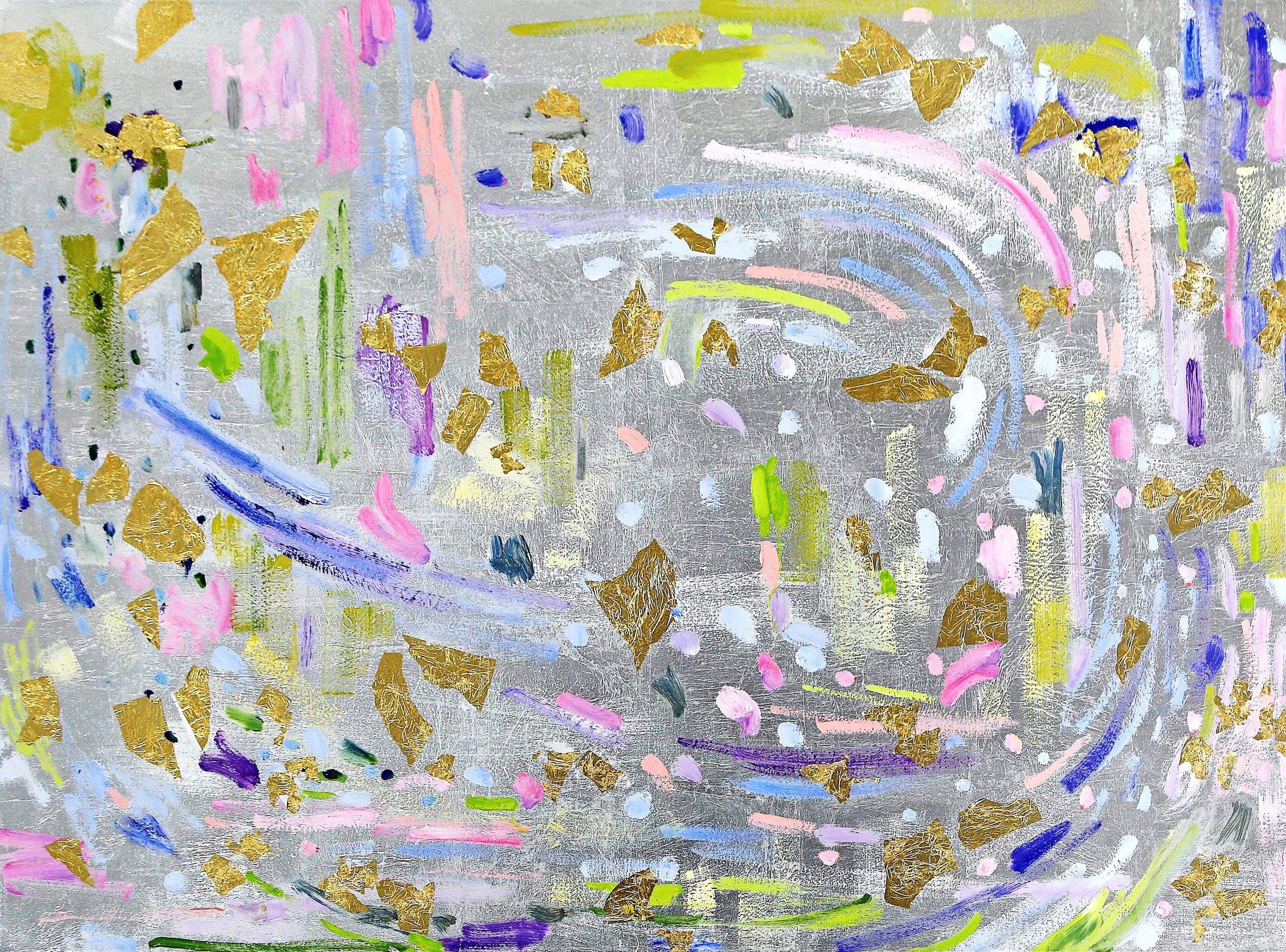 Butterflies I# 36 x 48 in.