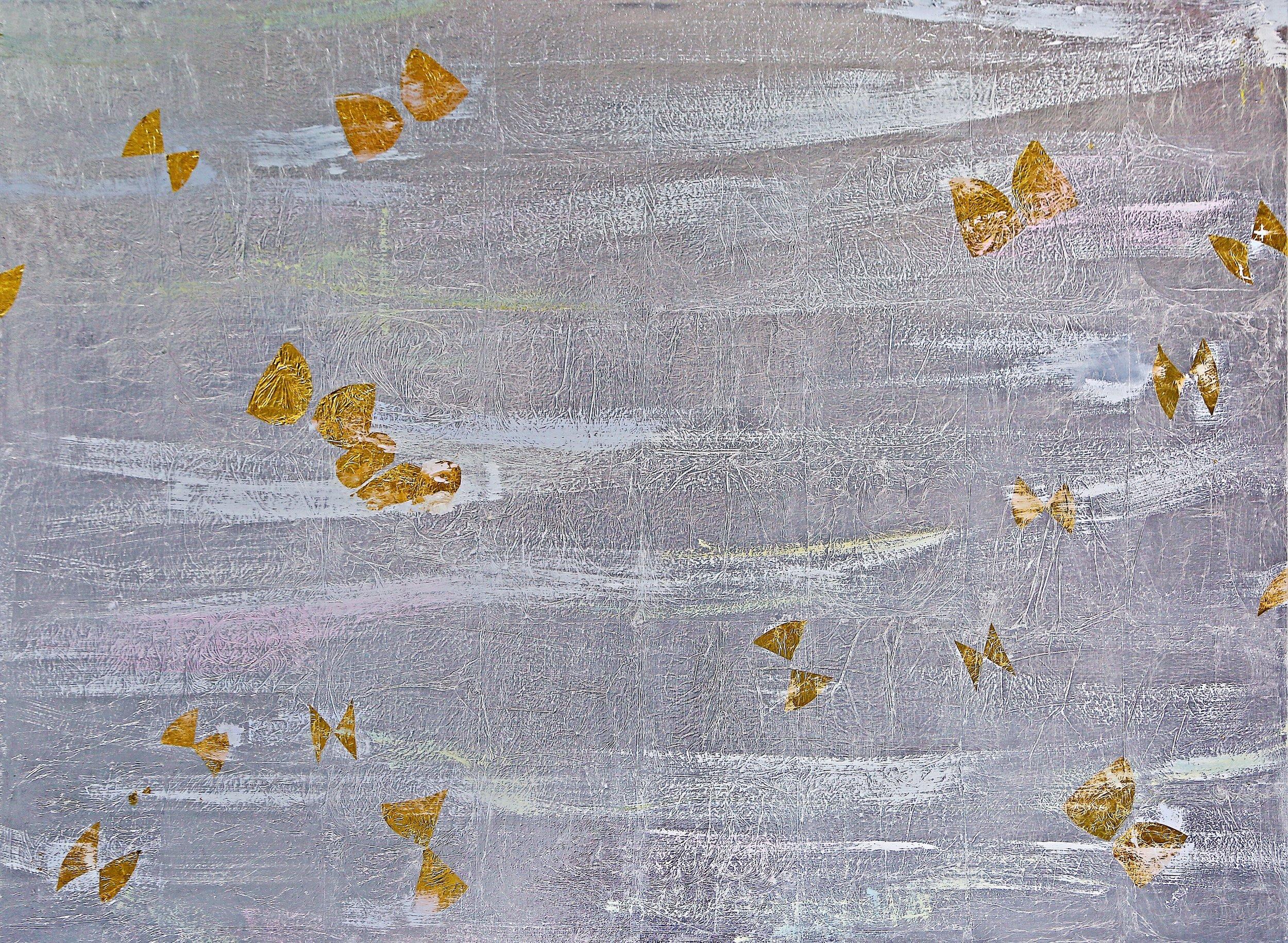 Butterflies II# 36 x 48 in.