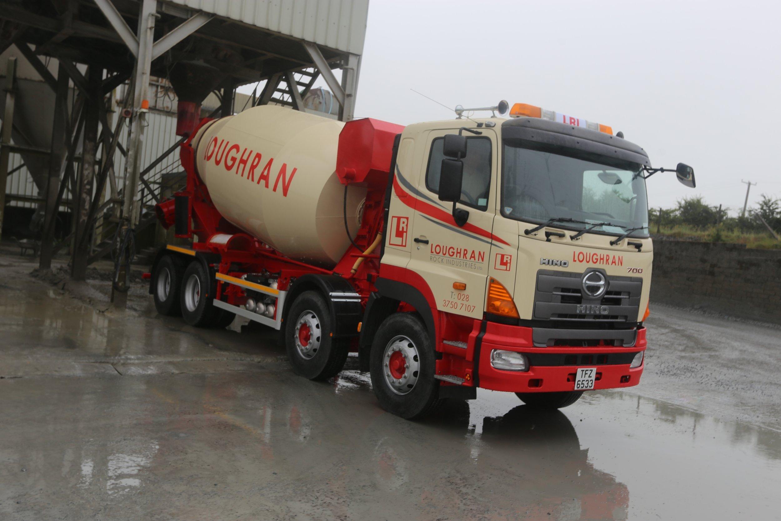 ready mix cement northern ireland
