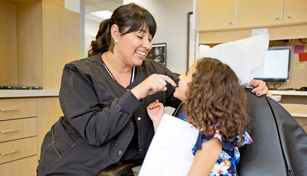 Come be part of our dentistry family in San Ramon    Contact Us
