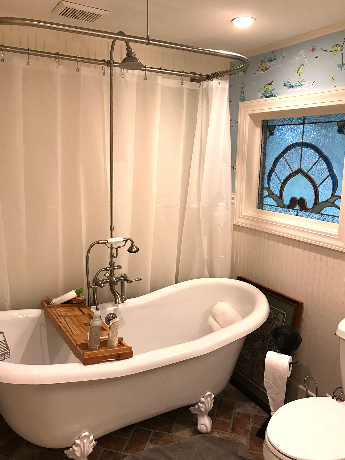Quiet Sanctuary - Bathroom Updates for a Growing Family
