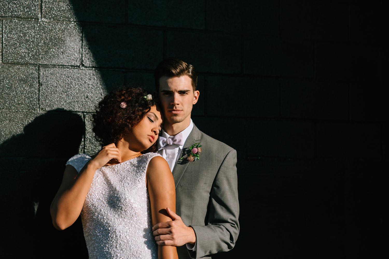 Denver, Colorado elopement couple.