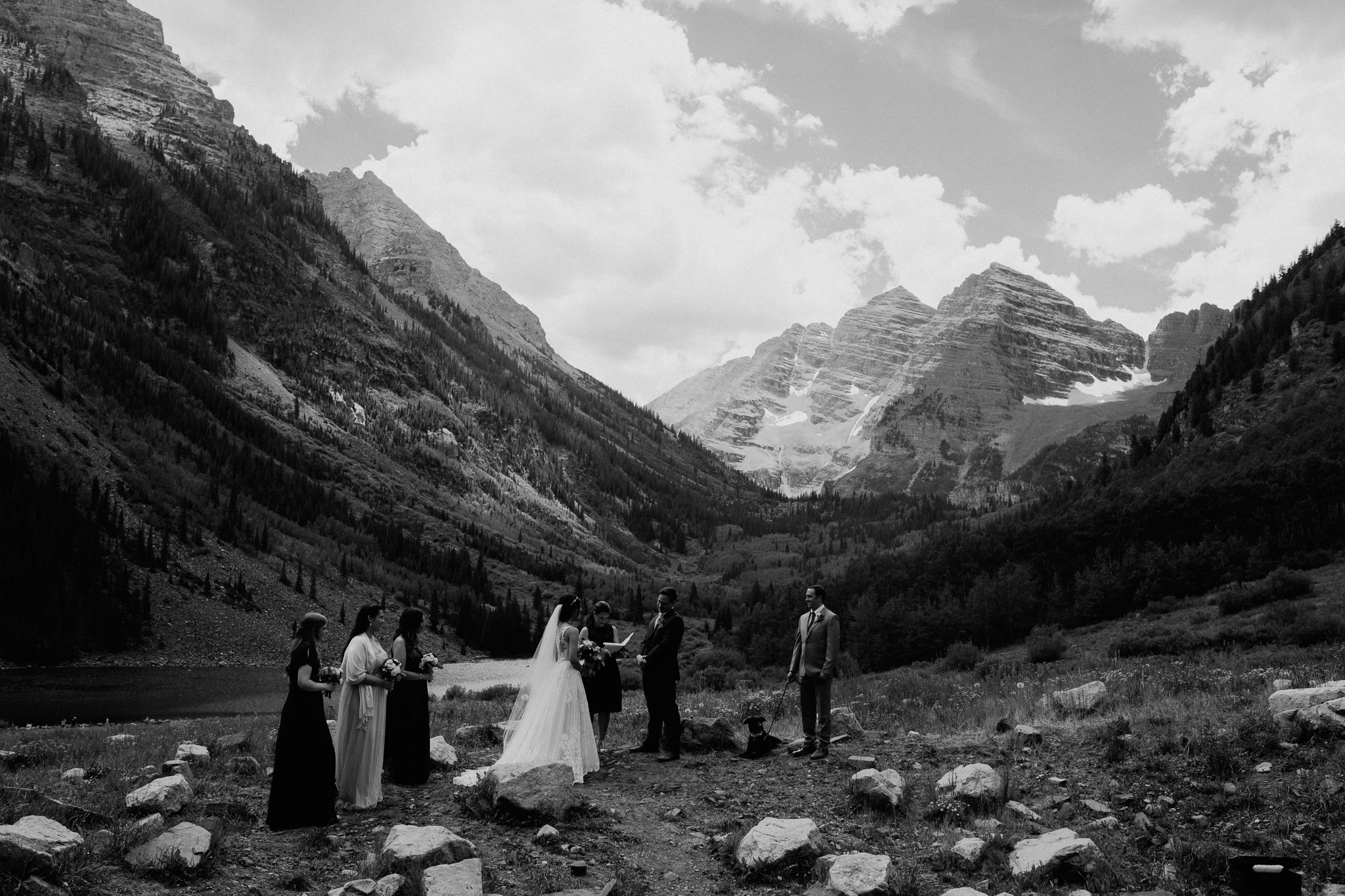 Maroon Bells intimate Elopement, Colorado wedding.