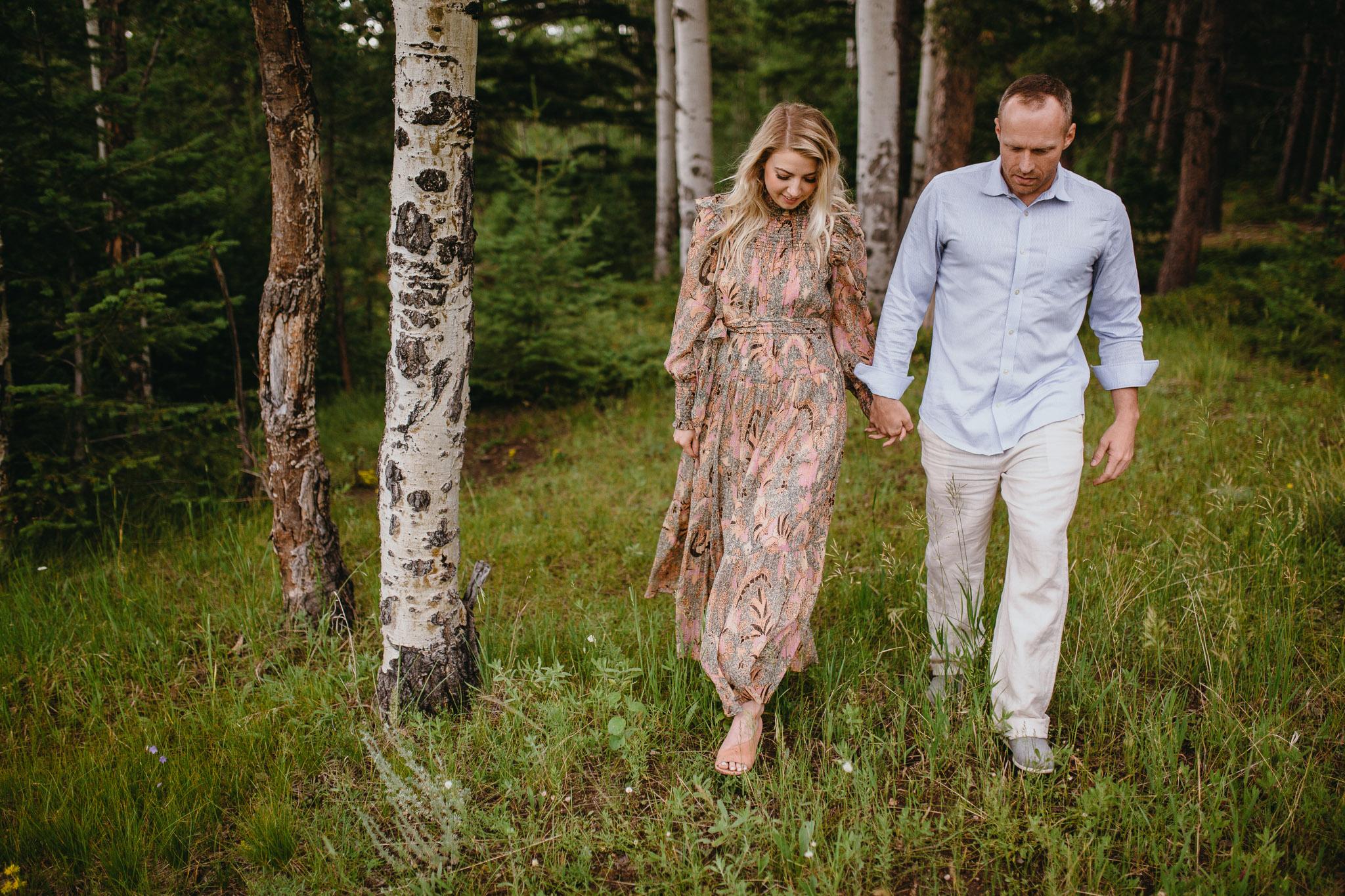 Adventure Engagement Photos   Evergreen, Colorado Photographer