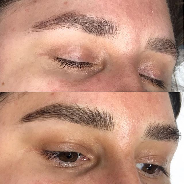 Retouch on Allison ✨ : : : : : : #fluffybrows #beforeandafter #microblading #browtransformation #brows #browbabe #permanentmakeup #hairstrokes #realistictattoo #eyebrowtattoo #browmakeover #cosmetictattoo #cosmetictattooing #featherbrows #browsonpoint #fluffybrows #pmu #naturalbrows #browsnyc
