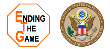"""Program Sponsor - Ending the Game / Probation Dept.Many women who were convicted of crimes related to trafficking are also victims of exploitation. While under Federal Probation supervision, they will have the opportunity to attend the Ending the Game Program. This is a 1st-of-its-kind """"coercion resiliency"""" curriculum that reduces the rate of recidivism among sex trafficking survivors."""