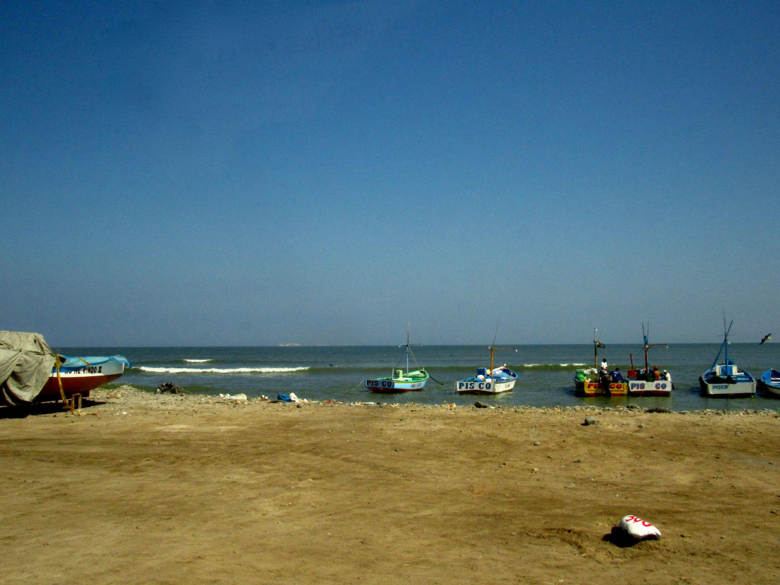 Pisco Coastline