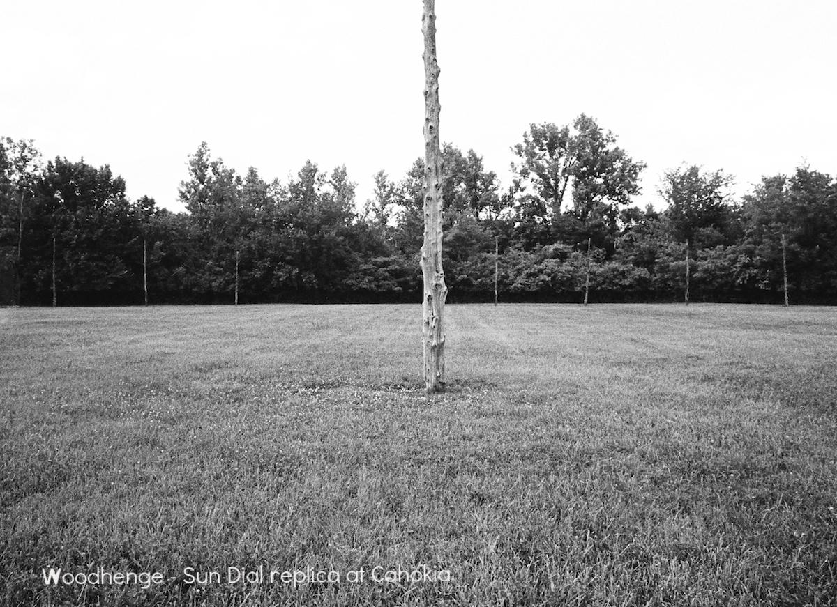Woodhenge Sundial (replica)