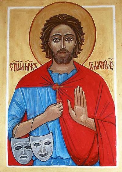Icon of St. Genesius of Rome