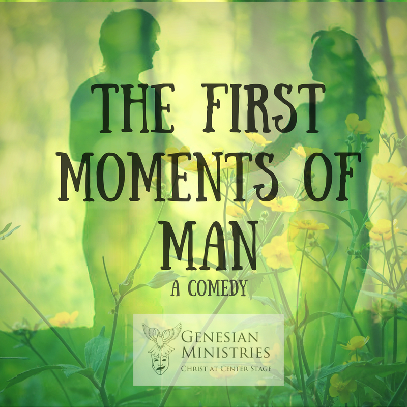 Click to learn more about our current touring production,  The First Moments of Man