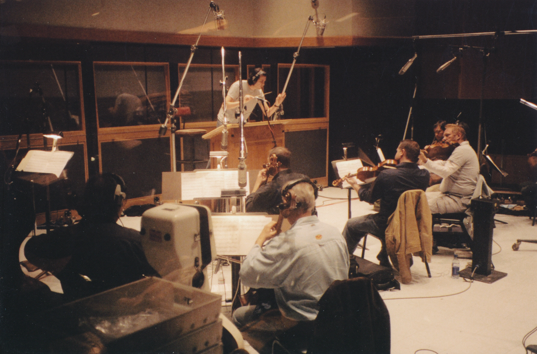 My Muse recording session at Capitol Records