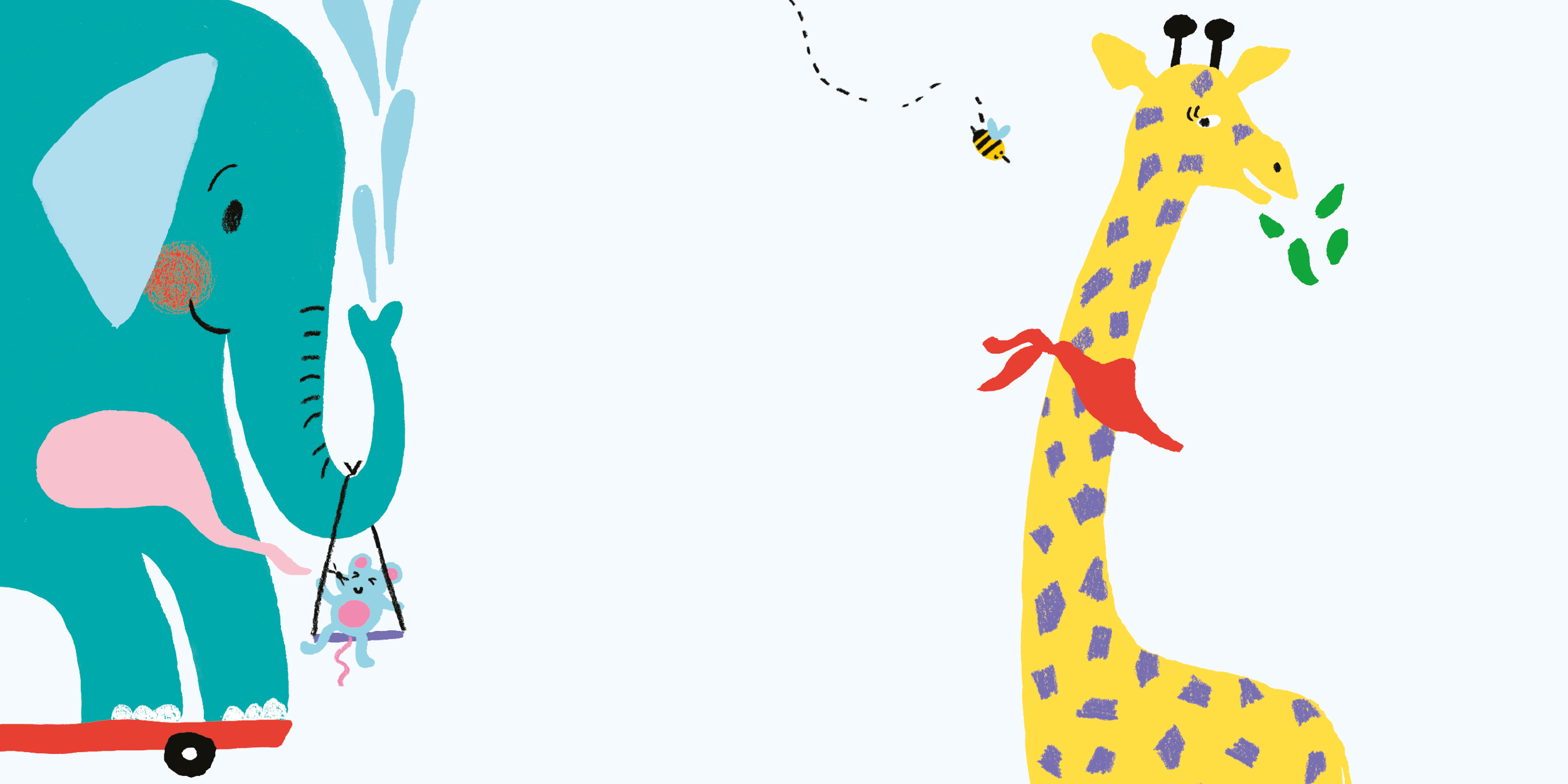 tiny and tall – hook book  illustrated by Eleonora Marton