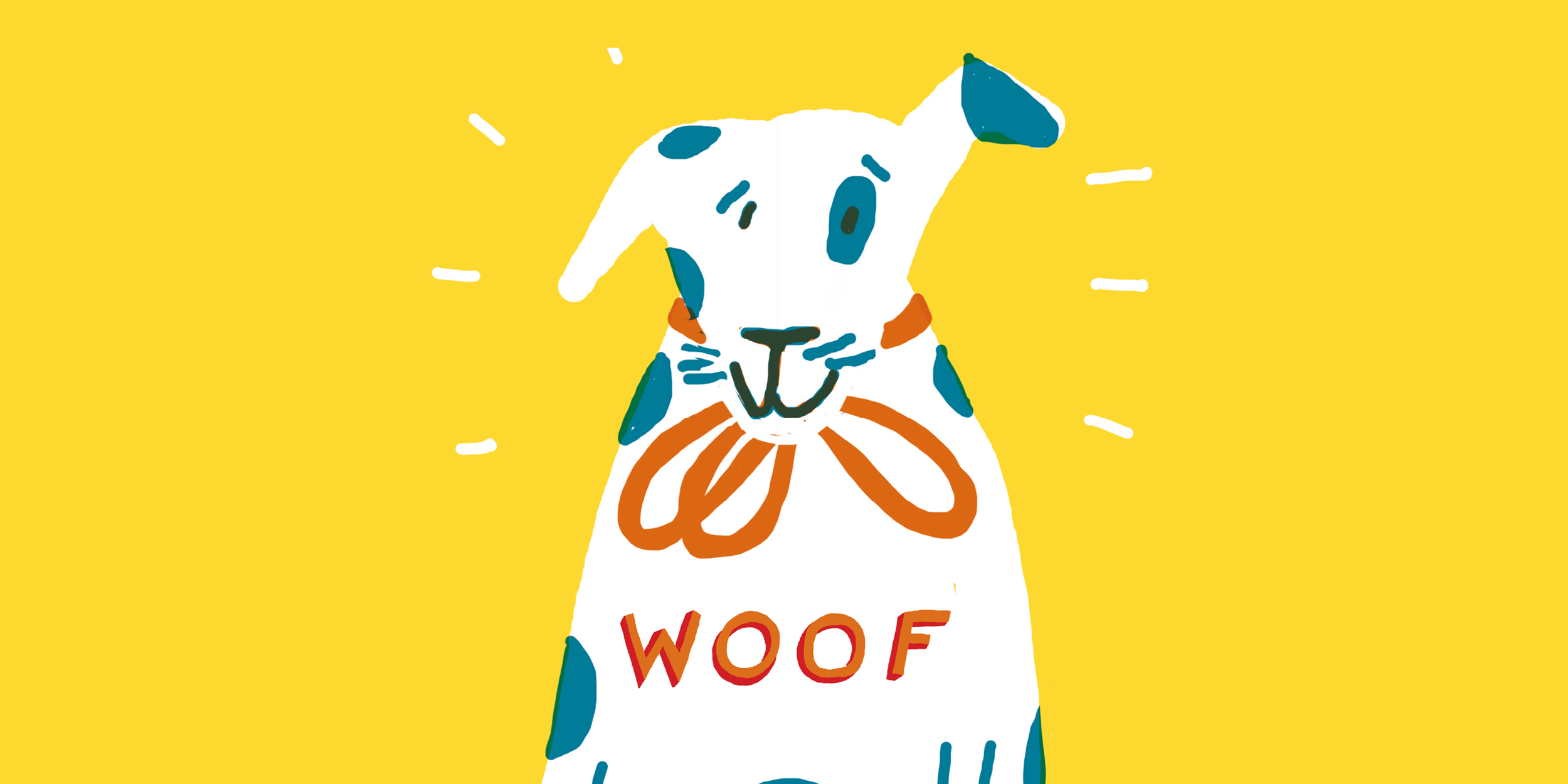 woof  illustrated by Max Machen