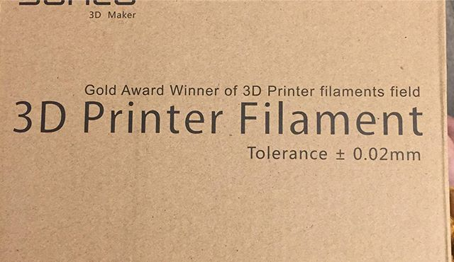 Going to reviewing a FDM PLA+ filament from SUNLU 3D they have ask if anyone's want to test a roll get in touch with them #sunlu3d #sunlu3dfilament #sunlu3dprinterfilament #openmindinustries  https://twitter.com/SUNLU_3D  I'm thinking of printing some Batman stuff given that it's black