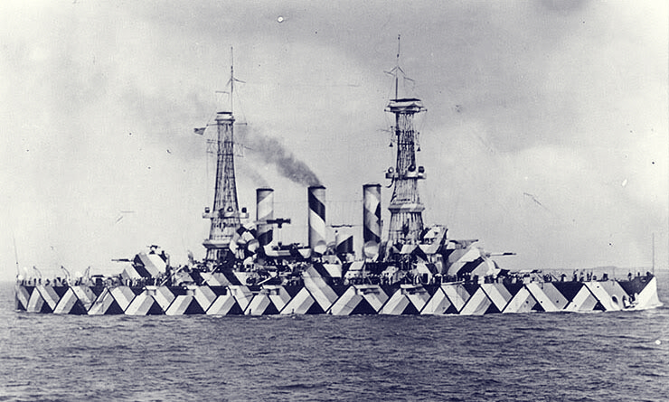 Pre-Dreadnought Battleship USS Nebraska. Unknown author and exact date of photography.