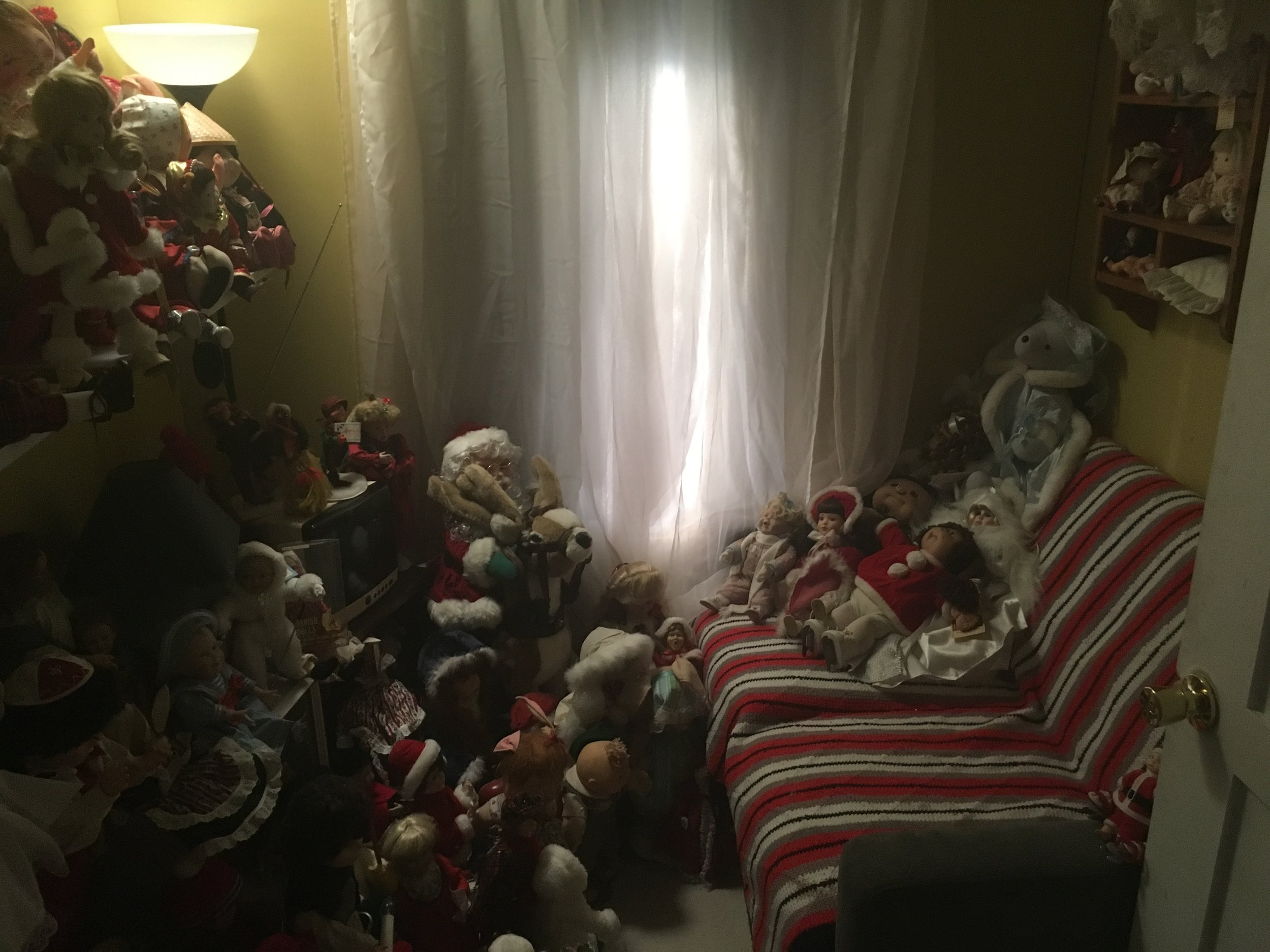 Doll hoarding room