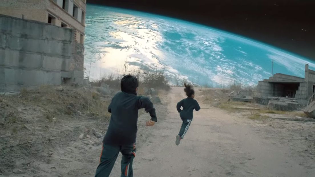 Another favorite still: from Coldplay's Up and Up music video. (Cred: Vania Heymann and Gal Muggia)