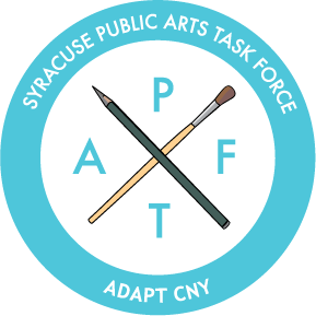 Adapt CNY's Public Arts Task Force Logo