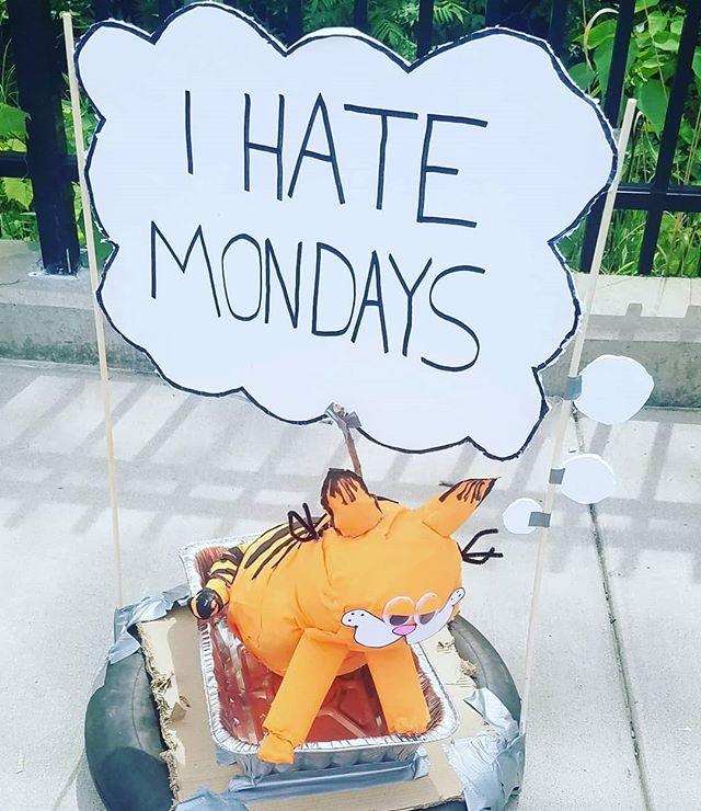 Me, too, Garfield. Me. Too.