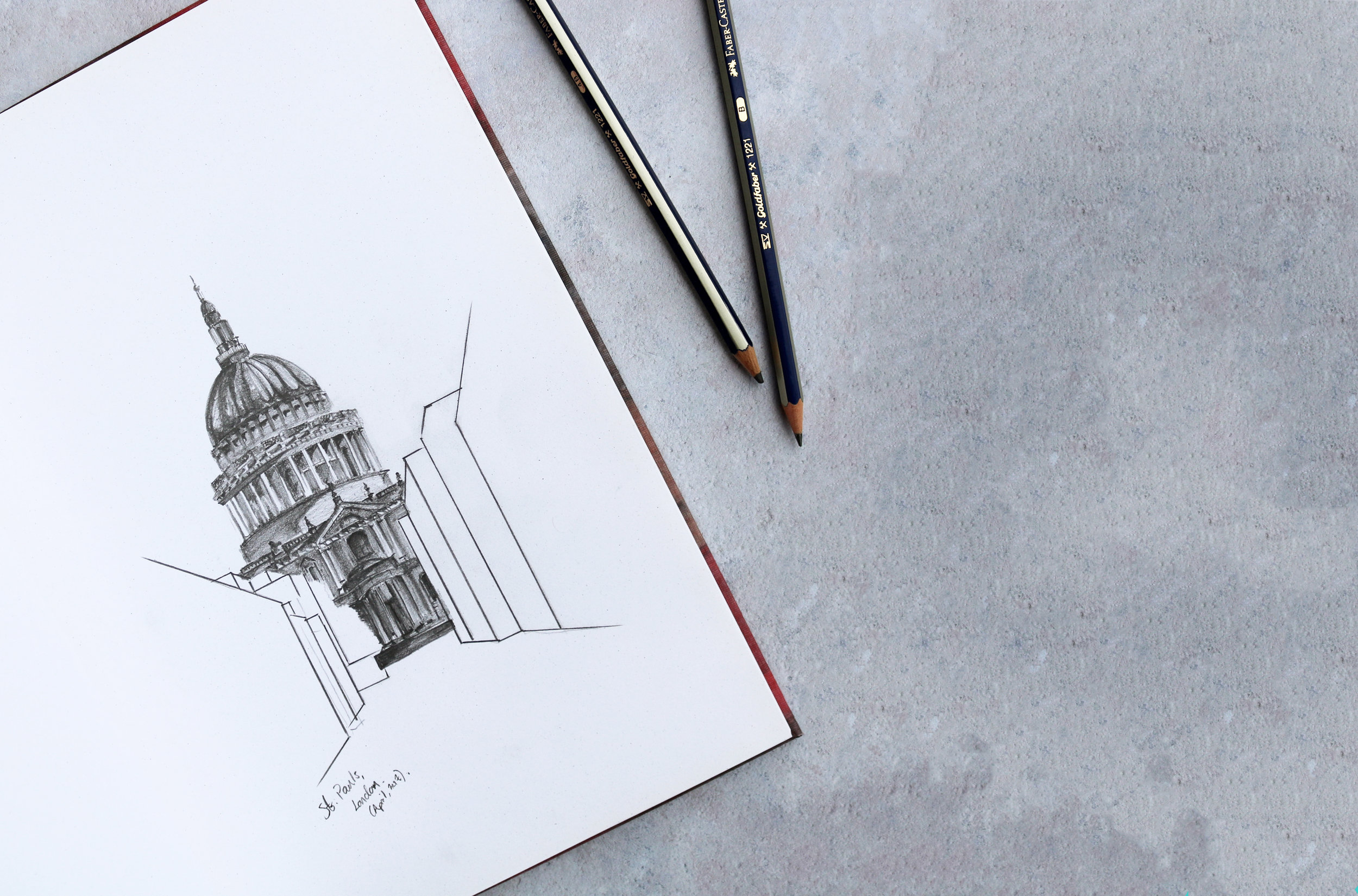 St. Paul's Cathedral Sketch by Tom Martin (April, 2017).jpg