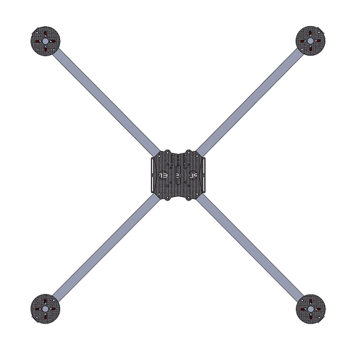 Viking UAS Punisher Frame - Free download of all files needed to make or modify the low cost Viking UAS Punisher X Class frame, courtesy of Viking UAS!