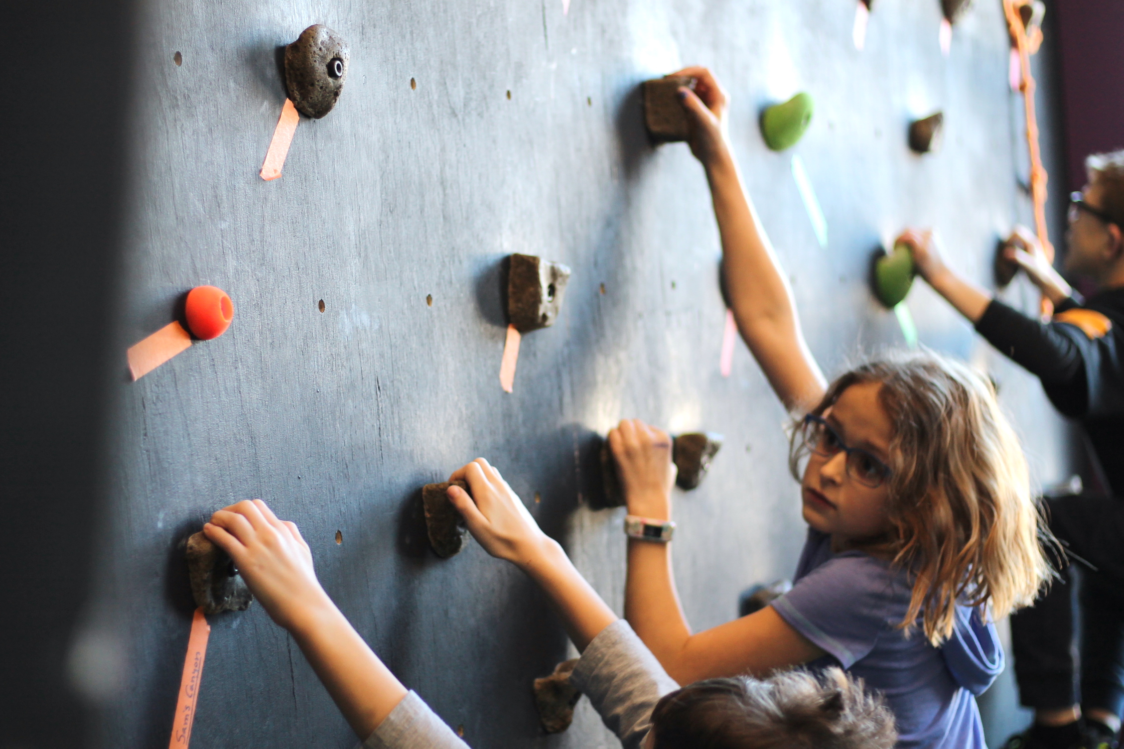 Climbing Lab - 3 kids climbing.JPG