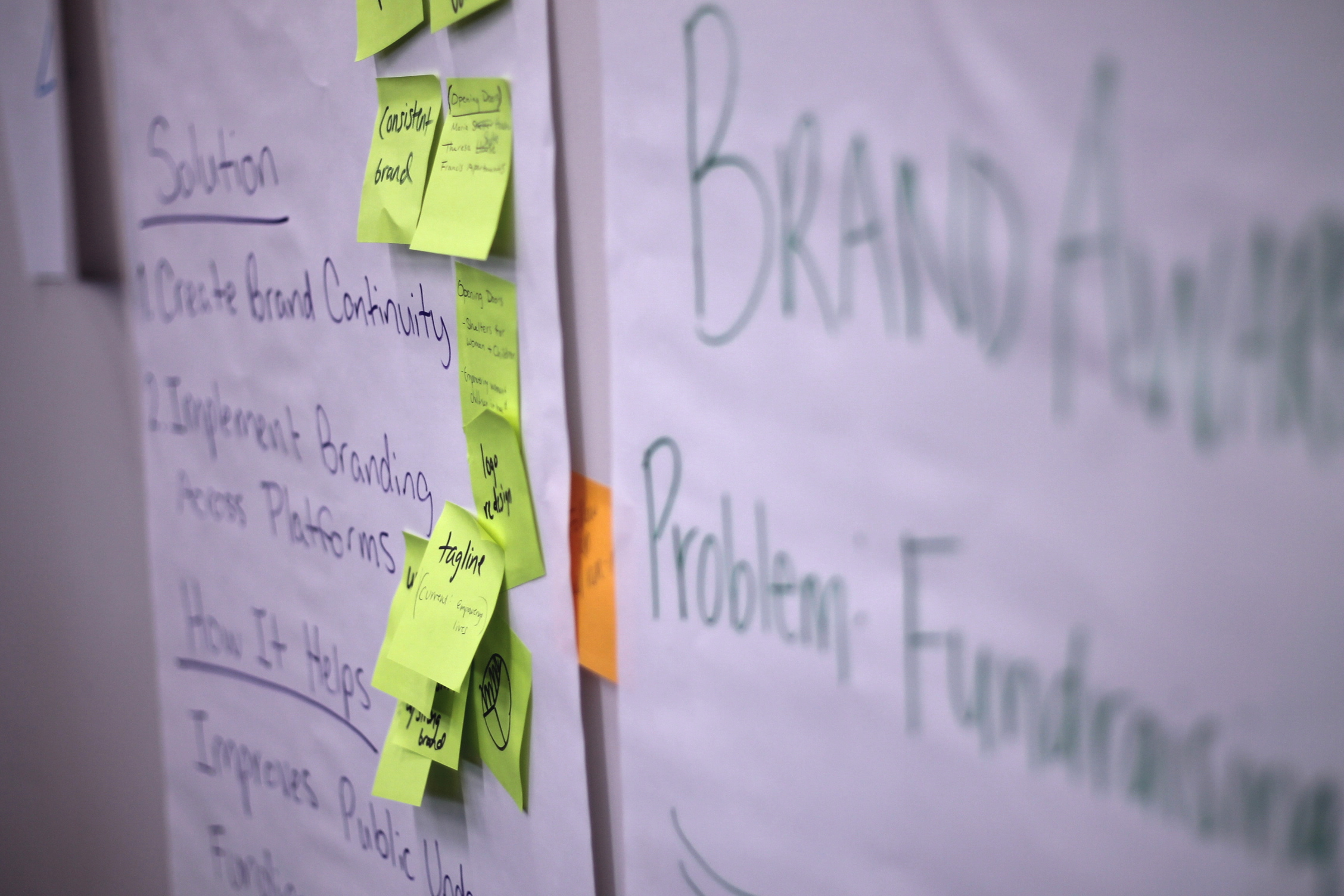 IDEAdash - Create ideas to move a core priority forward and help your team learn effective ideation techniques. Over the course of 3-4 hours, we lead your team (12 or more) through a series of rapid ideation sessions around topics you choose.
