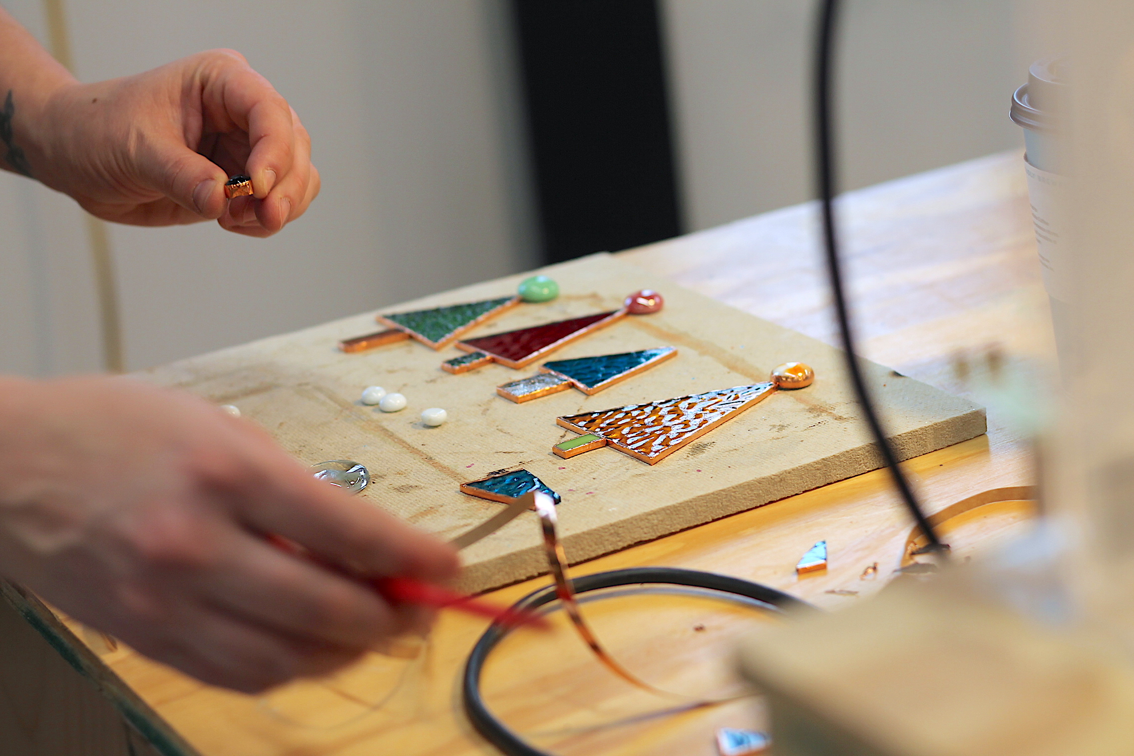 Art Lab - Stained Glass - Ornament workshop.JPG