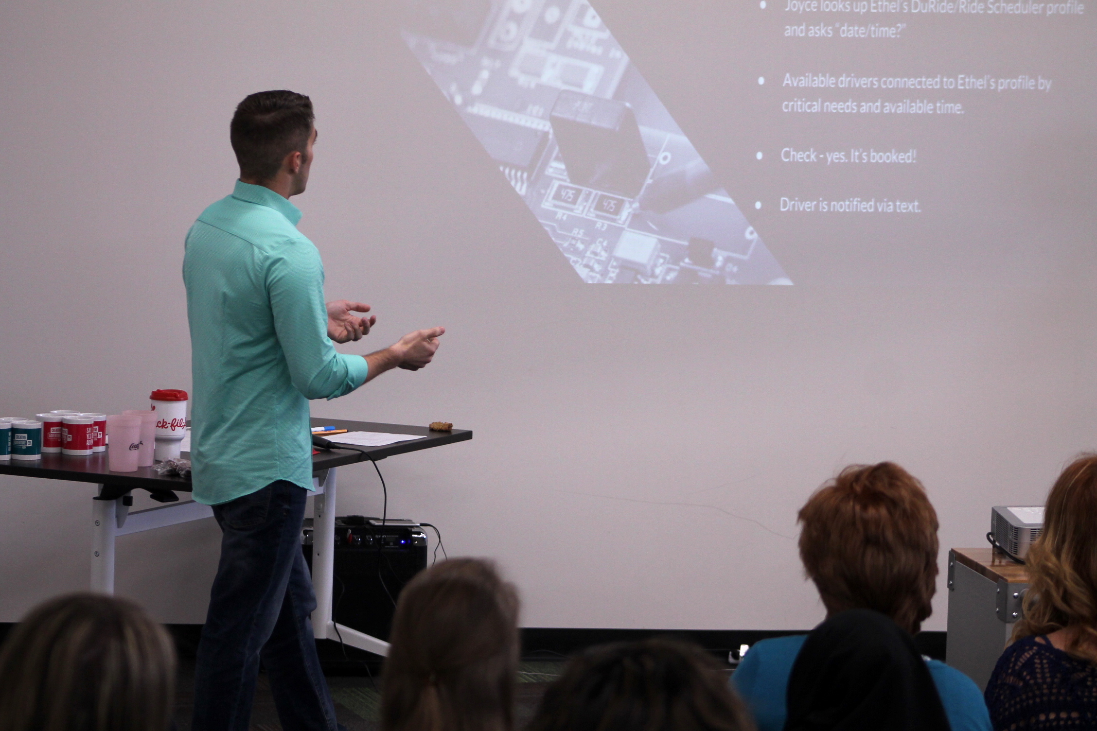 Community volunteers pitch solutions for local nonprofits