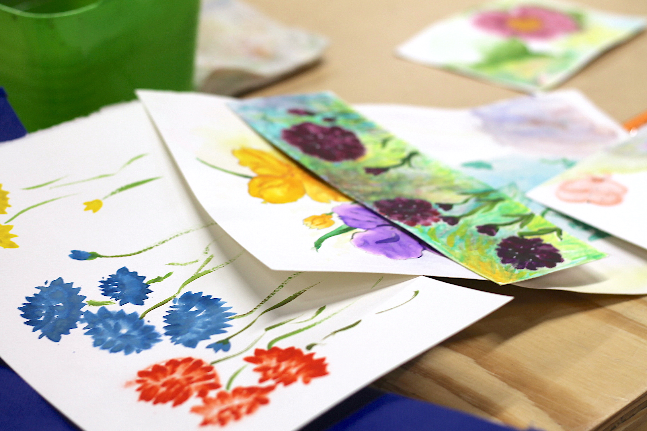 Art Lab - Painting 2 - watercolor paintings.JPG