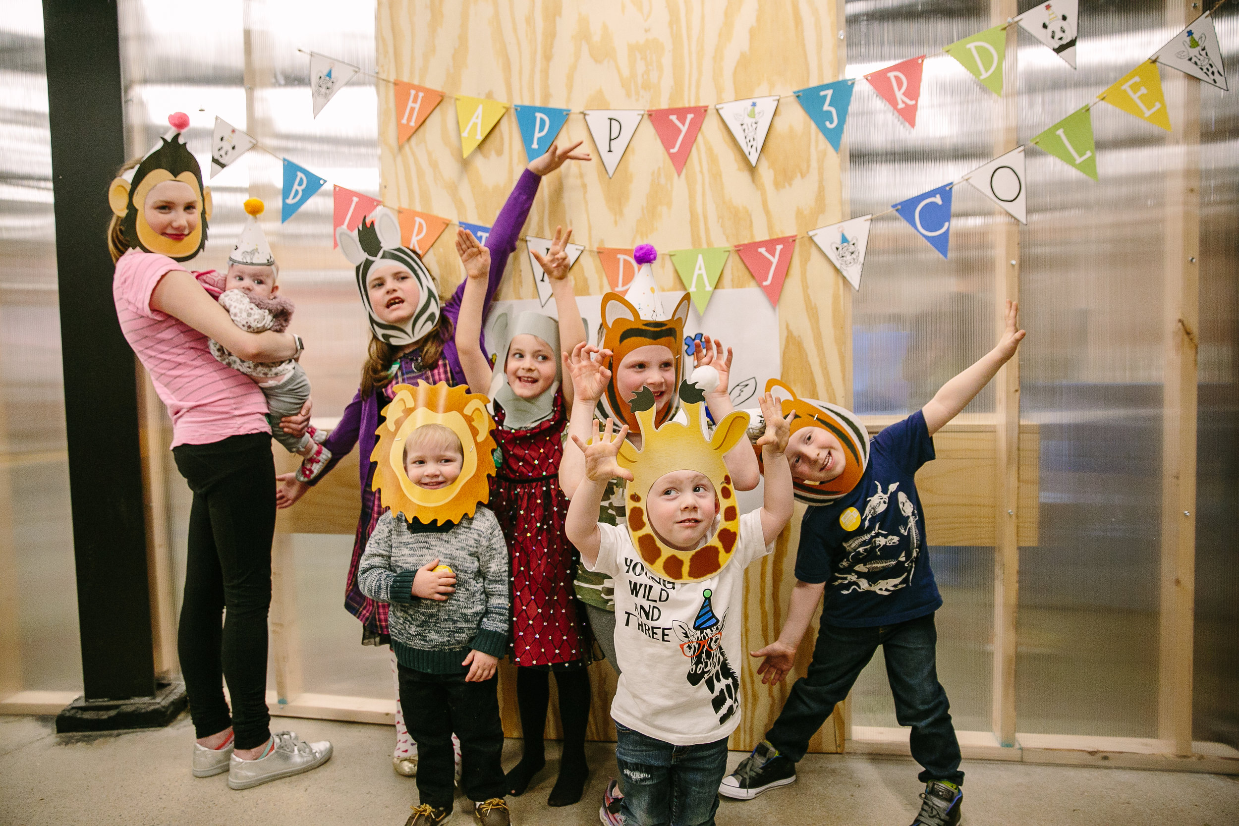 Look at those little party animals! How will you theme your party?