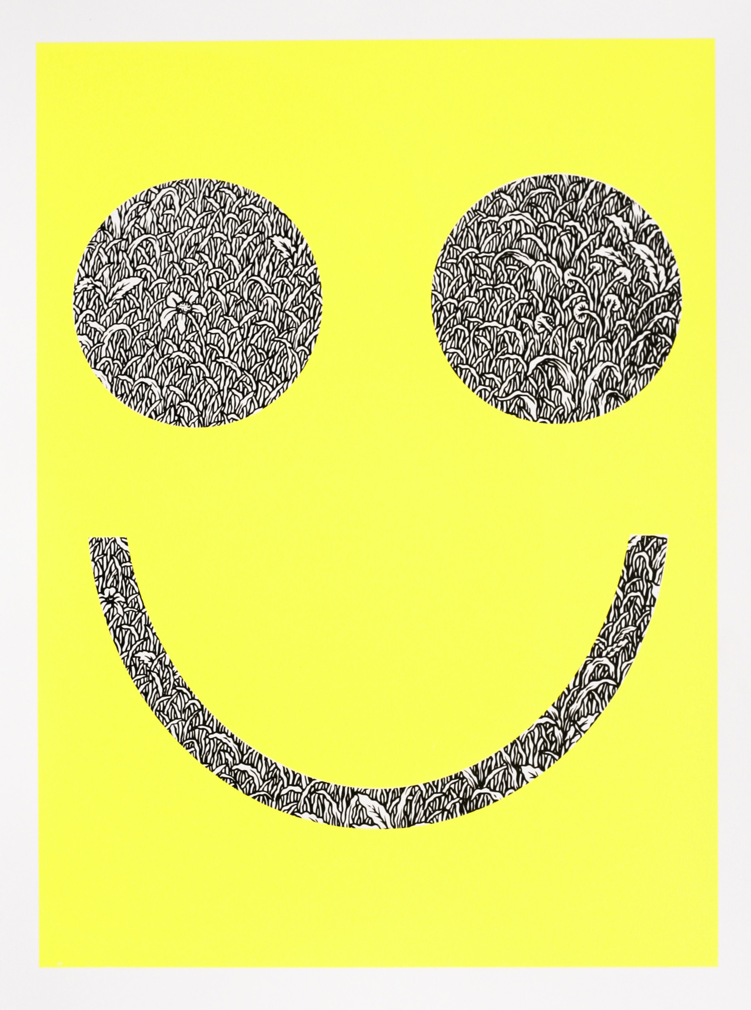 Tyler Krasowski   Smiles   screenprint  2014