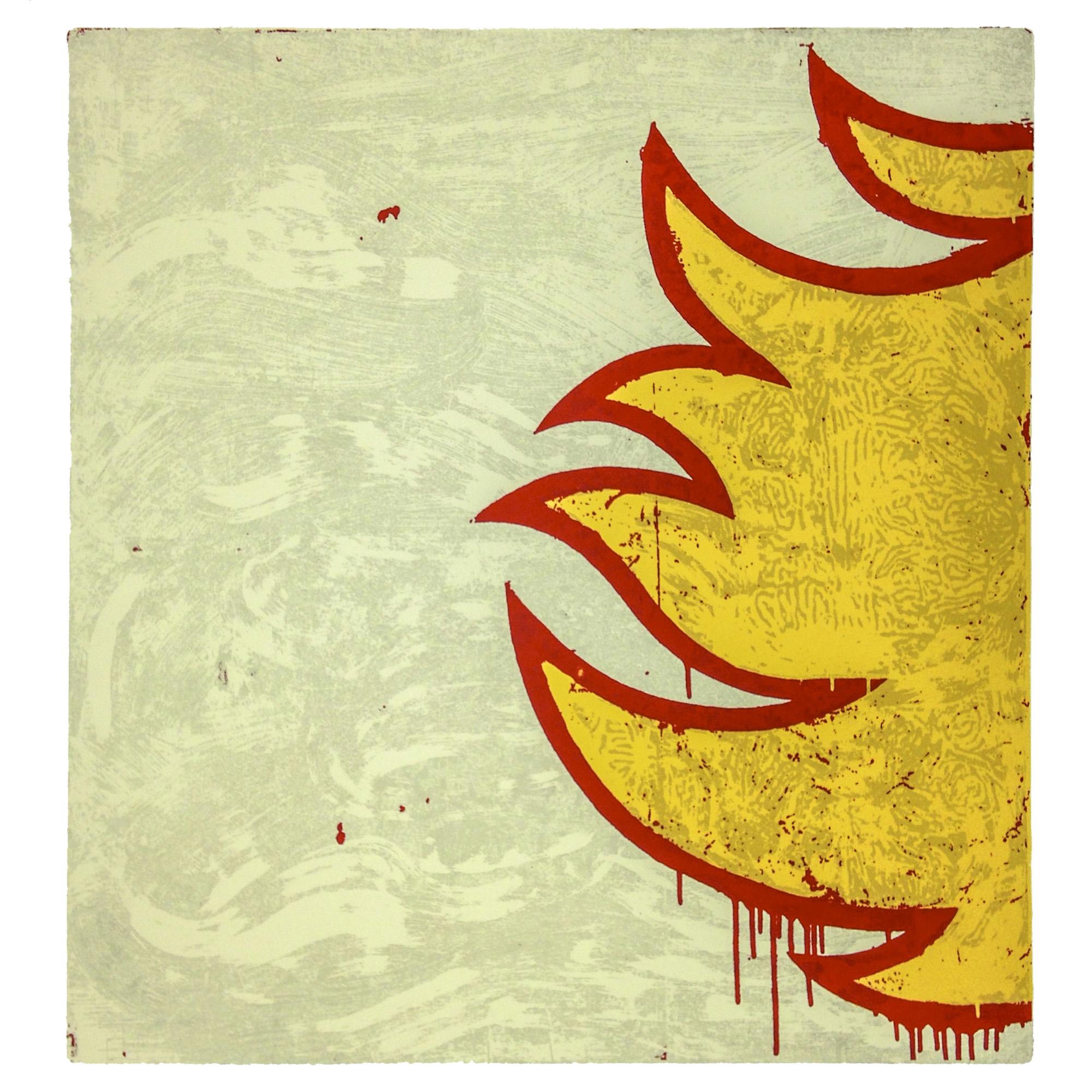 Paulis Liepa   Burn It!   Screenprint  2014