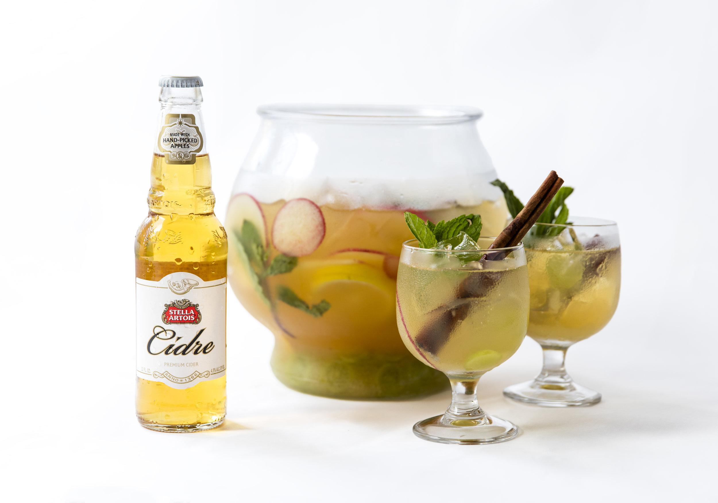 Stella Artois Cidre Sangria Punch