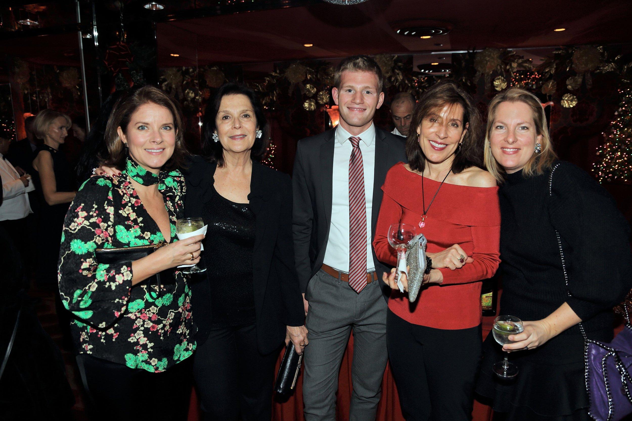 (L to R) Shelton Smith, Barbara Evans-Butler, Josh D'Ambrosio, Pamela D'Arc, Cornelia Van Amberg